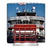 Natchez Riverboat Shower Curtain