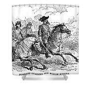 Nathan Bedford Forrest (1821-1877) Shower Curtain