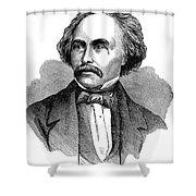Nathaniel Hawhtorne Shower Curtain