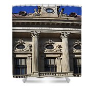 National Bank Of Romania Shower Curtain
