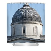 National Gallery Cupola Shower Curtain
