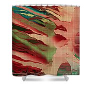 Native Abstract Weave Shower Curtain