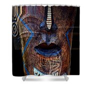 Native Africa 3 Shower Curtain