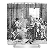 Native Americans: Divorce Ceremony Shower Curtain