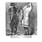 Native Americans: Flatheads Shower Curtain