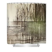 Natural Abstract 2 Shower Curtain