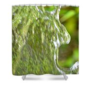 Natural Abstract 34 Shower Curtain