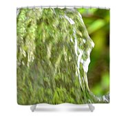 Natural Abstract 36 Shower Curtain