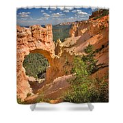 Natural Bridge In Bryce Canyon National Park Shower Curtain