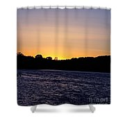 Natural Pastels Shower Curtain