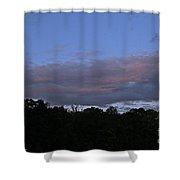 Natural Skyline Shower Curtain