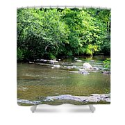Natural Spring Water Shower Curtain