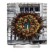 Natural Wreath Shower Curtain