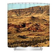 Naturally Painted Hills Shower Curtain