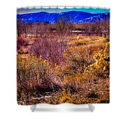 Nature At It's Best In South Platte Park Shower Curtain