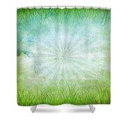 Nature Grunge Paper Shower Curtain