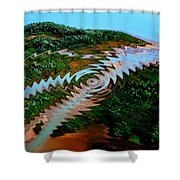 Nature Joy Year 3010 Shower Curtain