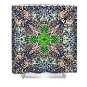 Nature Mandala Shower Curtain