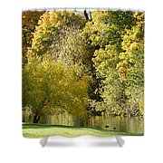 Nature Of The Fall Shower Curtain