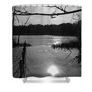 Nature Reflection Shower Curtain