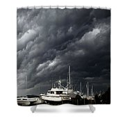 Nature's Fury Shower Curtain by Karen Wiles
