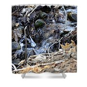 Natures Ice Maker Shower Curtain