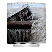 Natures Ice Sculptures 5 Shower Curtain