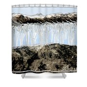 Natures Ice Sculptures 6 Shower Curtain