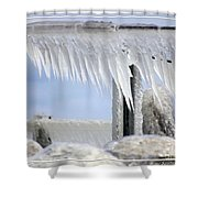 Natures Ice Sculptures1 Shower Curtain