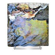 Nature's Leaf Collage Shower Curtain