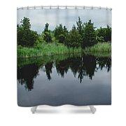 Natures Mirror Shower Curtain