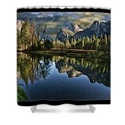 Natures Reflection Shower Curtain