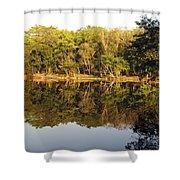 Natures Reflection Guatemala Shower Curtain