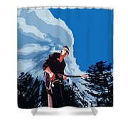 Natures Way 3 Shower Curtain