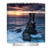 Nau Dos Corvos Shower Curtain