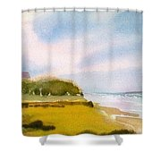 Nauset Beach Afternoon Shower Curtain