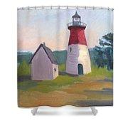 Nauset Lighthouse Cape Cod Shower Curtain