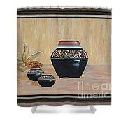 Navajo Pots Shower Curtain