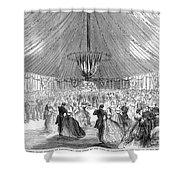 Naval Festival, 1865 Shower Curtain