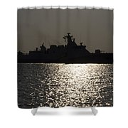 Naval Joint Operations V7 Shower Curtain