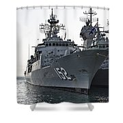 Naval Joint Ops V2 Shower Curtain