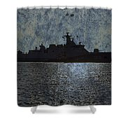 Naval Joint Ops V3 Shower Curtain