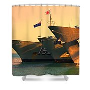 Naval Joint Ops V4 Shower Curtain