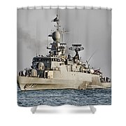 Naval Joint Ops V8 Shower Curtain