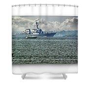 Naval Ship Shower Curtain