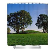 Navan Fort, Co Armagh, Ireland, Ancient Shower Curtain