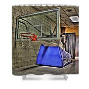 Nba Hoop Auburn Hills Mi Shower Curtain