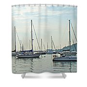 Ne-mast-e    Greetings To A New Day Shower Curtain