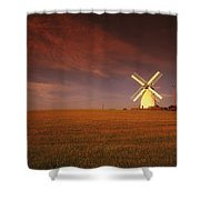 Near Newtownards, Co Down, Ireland Shower Curtain
