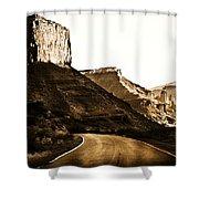 Nearing Moab Shower Curtain